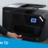 HP Office jet Pro 8610 Missing or Failed Print head