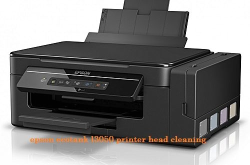 epson ecotank l3050 printer head cleaning