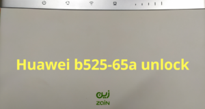 how to unlock huawei b525s-65a router