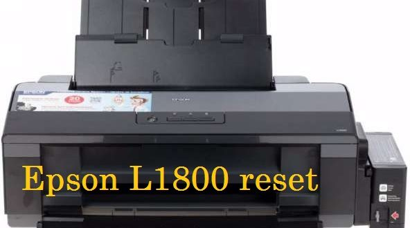 epson l1800 reset waste ink pad counter