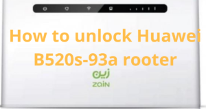 how to unlock huawei b520s-93a router
