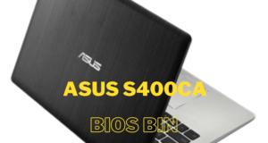 Asus vivobook s400ca bios bin